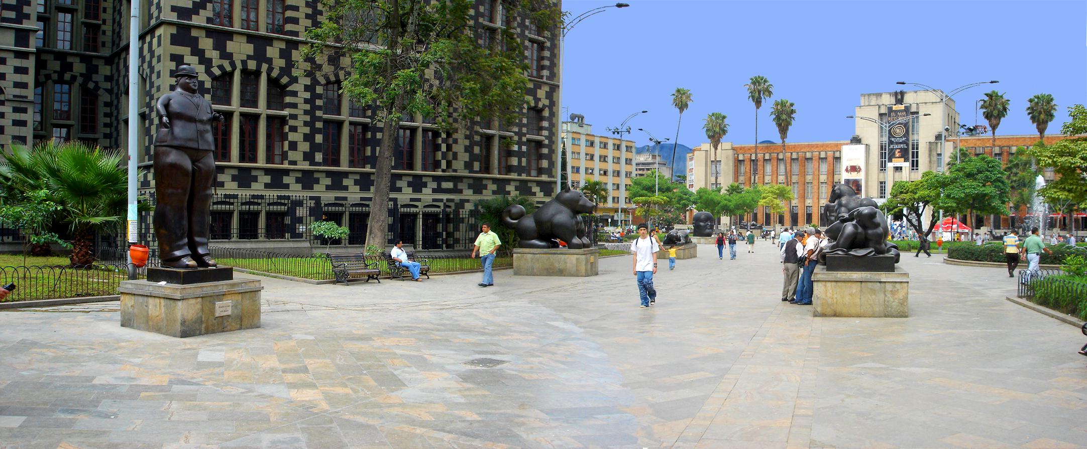 Que hacer en Medellin? Visitar el museo de Antioquia