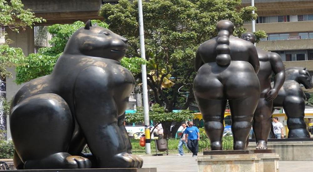 Qué hacer en Medellin? Visitar Parque Botero