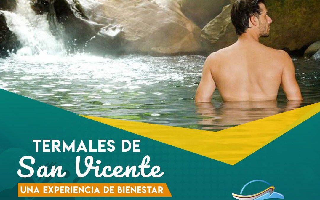 Termales de San Vicente para 28 de Abril de 2019