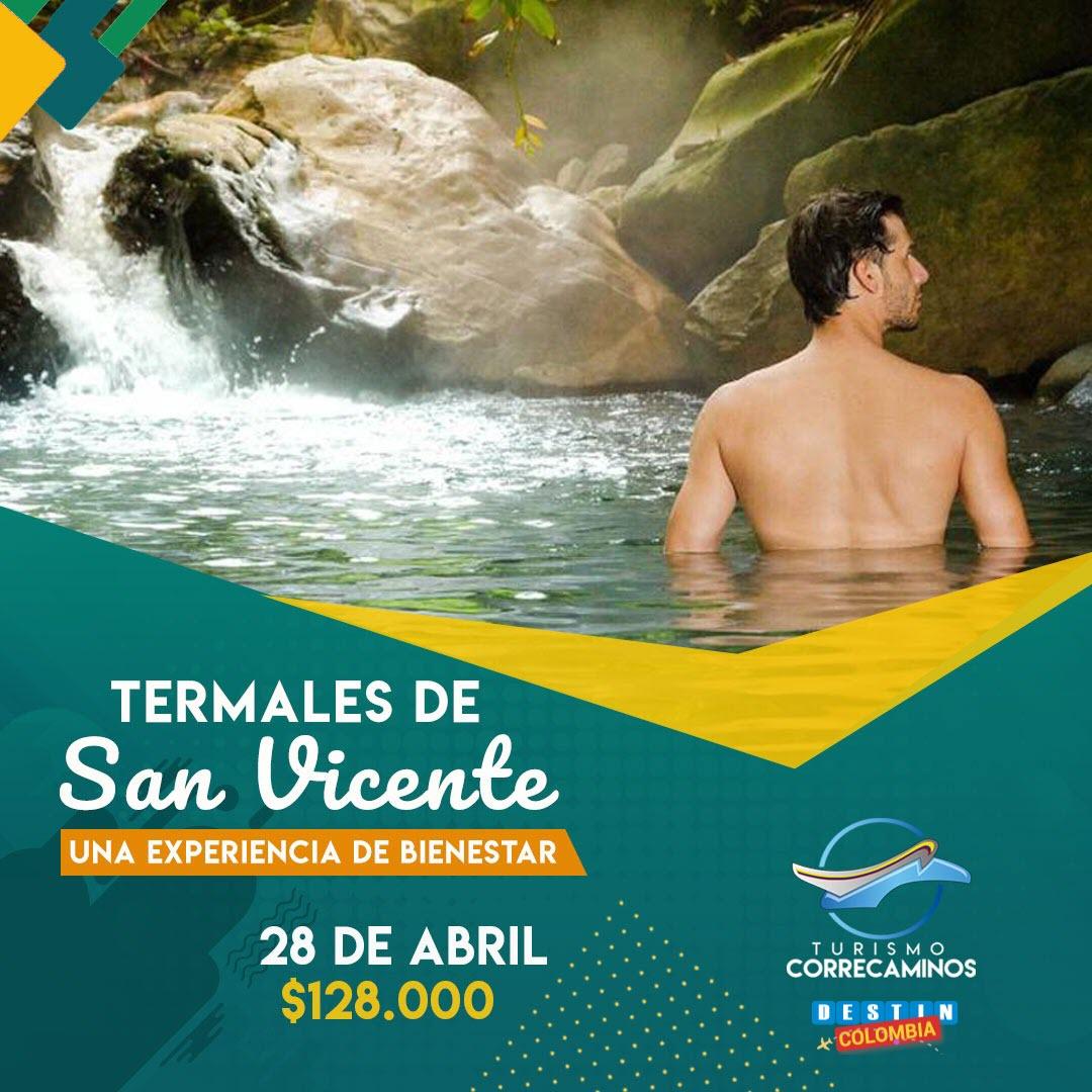 Pasadia a termales de San Vicente - Llama ya al 3016494036